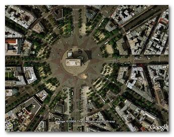 エトワール広場 凱旋門