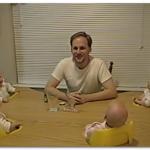 【動画】四つ子のパパは幸せ者!爆笑連鎖がとてつもなく可愛い!