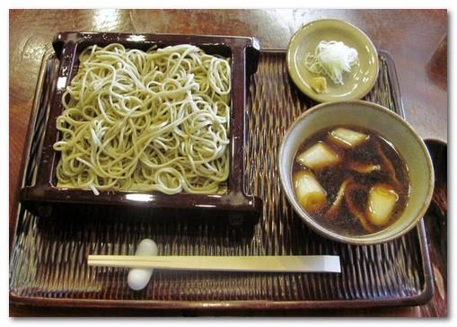 日野館 蕎麦