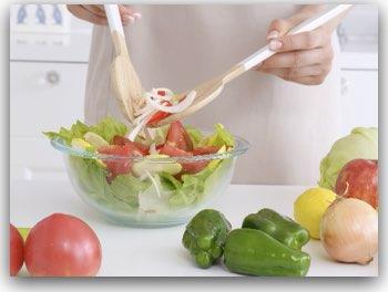 作り置きサラダ