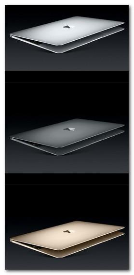 新MacBook 12インチ