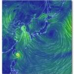 台風6号が接近中!米軍台風情報の時差は?Earthとは?