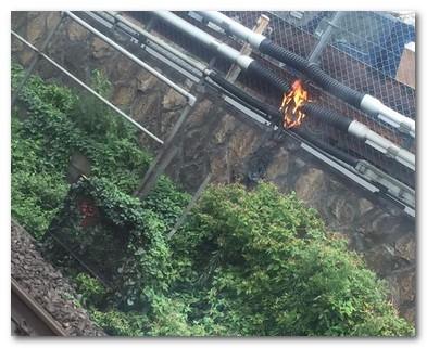 山手線ケーブル火災