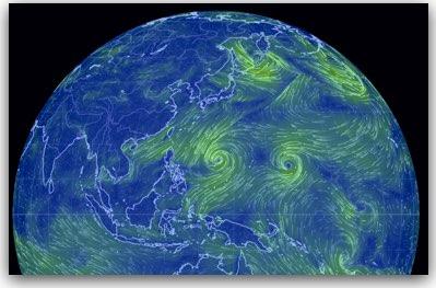 台風24号、25号