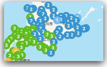 北海道の震度